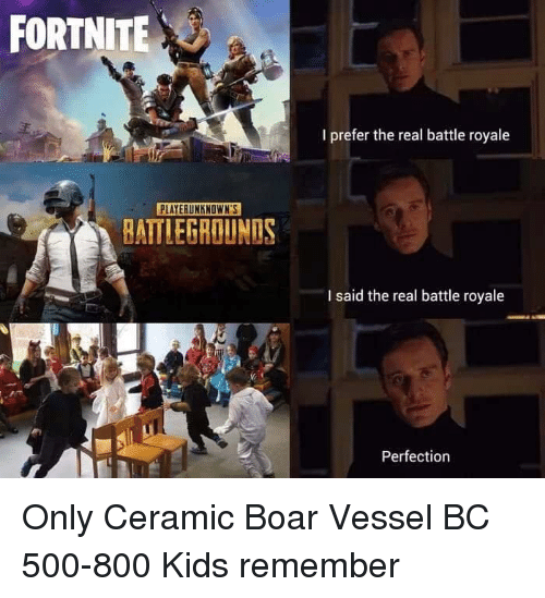Fortnite I Prefer The Real Battle Royale Playerunknowns
