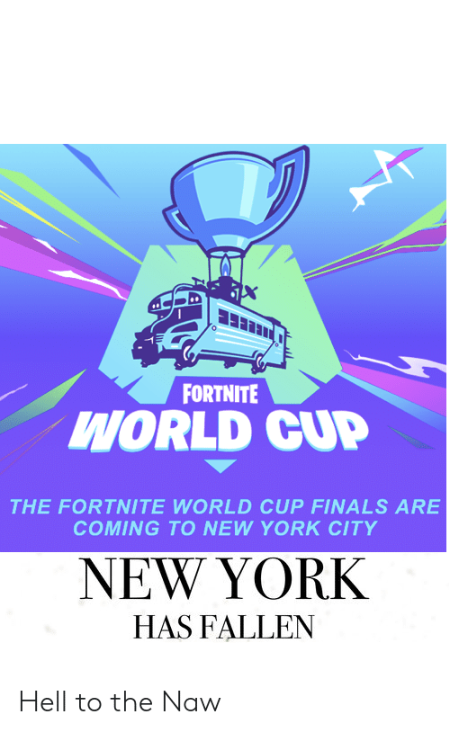 FORTNITE WORLD CUP THE FORTNITE WORLD CUP FINALS ARE COMING