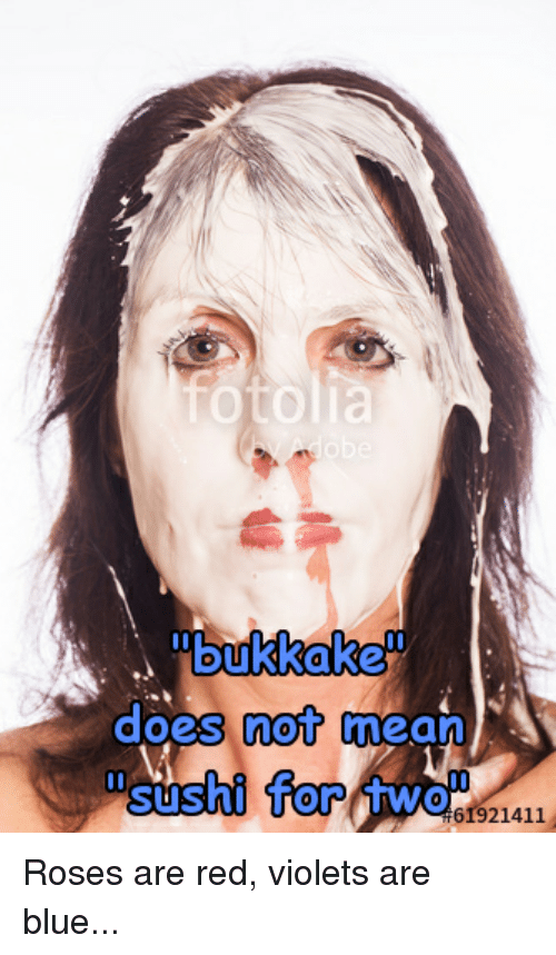 What does bukkake mean assured