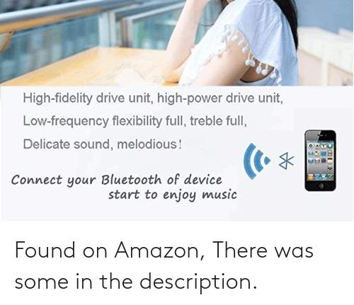 Amazon, Engrish, and There: Found on Amazon, There was some in the description.
