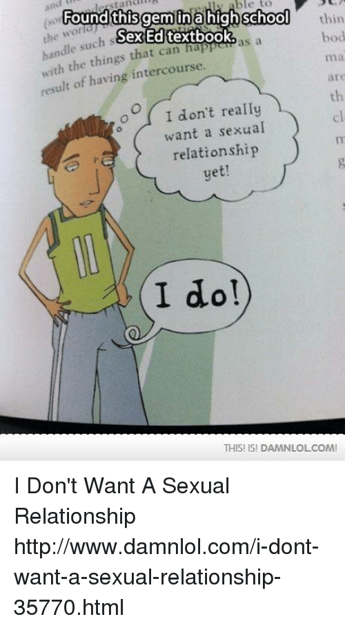 Sexual intercourse textbook