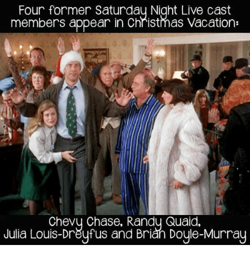 Randy Quaid Christmas Vacation.Four Former Saturday Night Live Cast Members Appear In