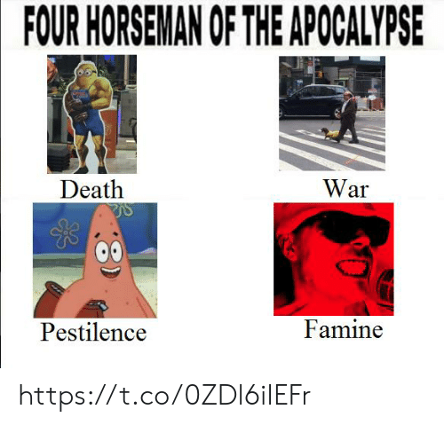 Amni the Four Absolute Units of the Apocalypse They Come to