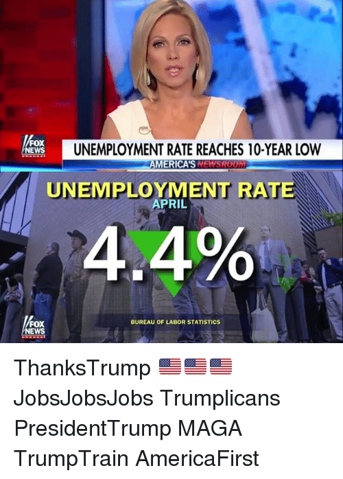 fox news fox news unemployment rate reaches 10 year low americas 20760959 ✅ 25 best memes about unemployment rate unemployment rate memes