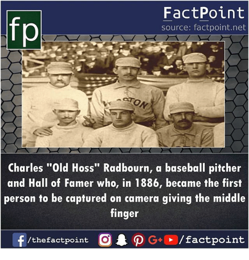 Fp Factpoint Source Factpointnet Charles Old Hoss Radbourn A