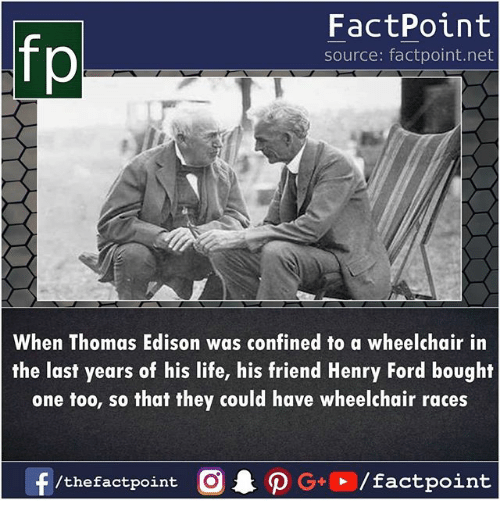 Fp FactPoint Source Factpointnet When Thomas Edison Was