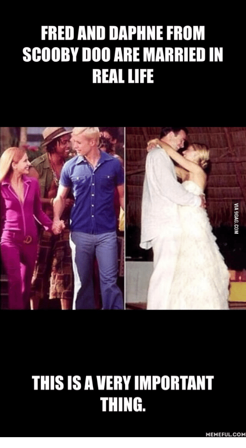 fred and daphne from scooby doo are marriedin real life 16222415 ✅ 25 best memes about scooby doo fred meme scooby doo fred memes
