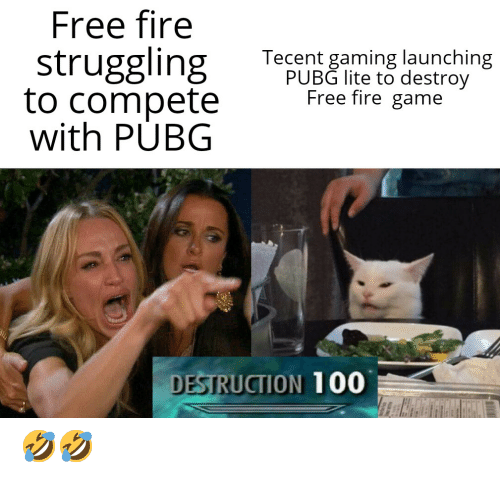 Free Fire Struggling To Compete With Pubg Tecent Gaming