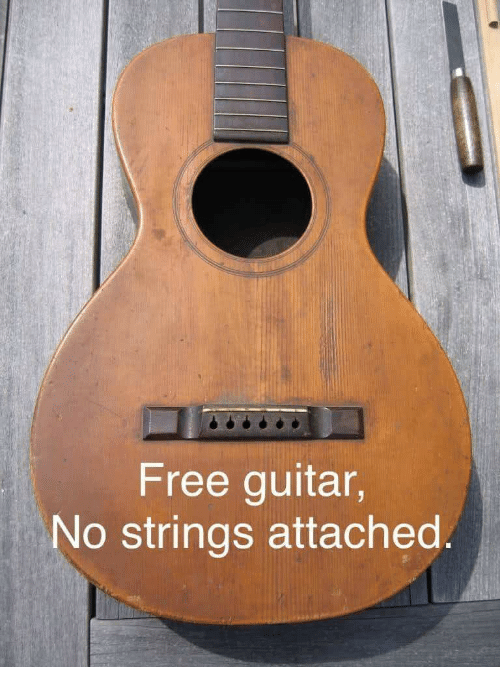 Free no strings attached
