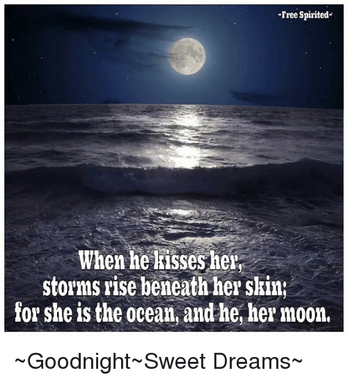 Memes, Free, And Moon:  Free Spirited When He Kisses Her; Storms