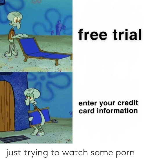 Free credit card info for free trials