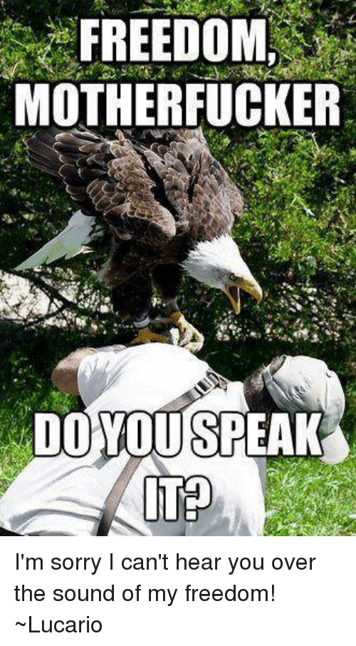 [Image: freedom-motherfucker-im-sorry-i-cant-hea...113187.png]