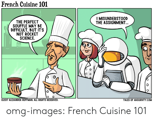 2408950b34eeac French Cuisine 101 I MISUNDERSTOOD THE ASSIGNMENT THE PERFECT ...