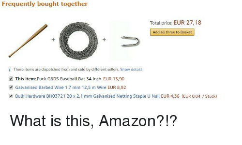 amazon how to add products to frequently bought together