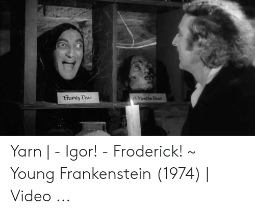 who played igor in young frankenstein