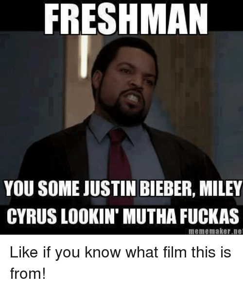 freshman you some justin bieber miley cyrus lookin mutha fuckas 8330478 ✅ 25 best memes about nun memes nun memes