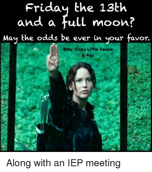 Friday the 13th and a Full Moon? May the Odds Be Ever in ...