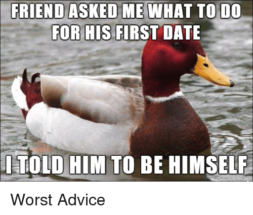 What to do on the first date with a friend