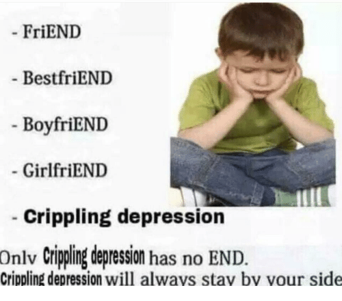 What if a girl dating me is depressed