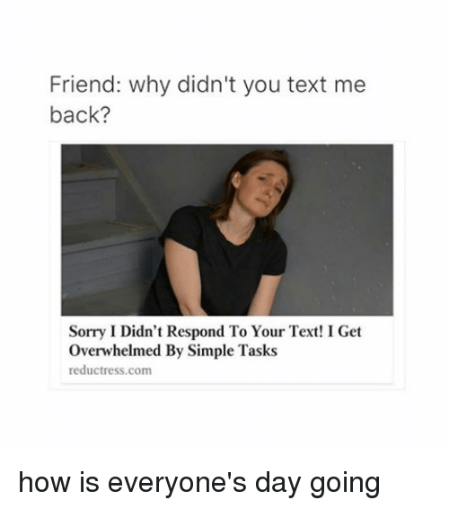 he didn t text back