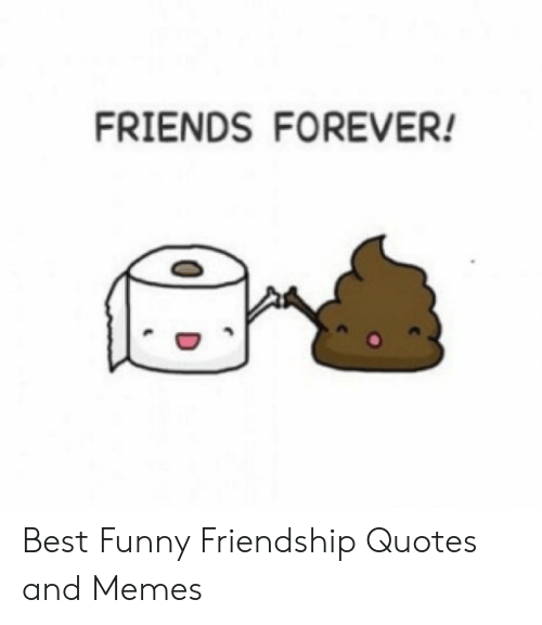 FRIENDS FOREVER! Best Funny Friendship Quotes and Memes ...
