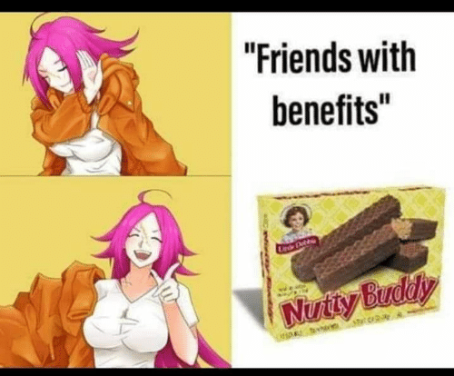 Buddy with benefits