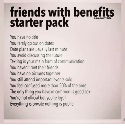 Can You Have Friends With Benefits