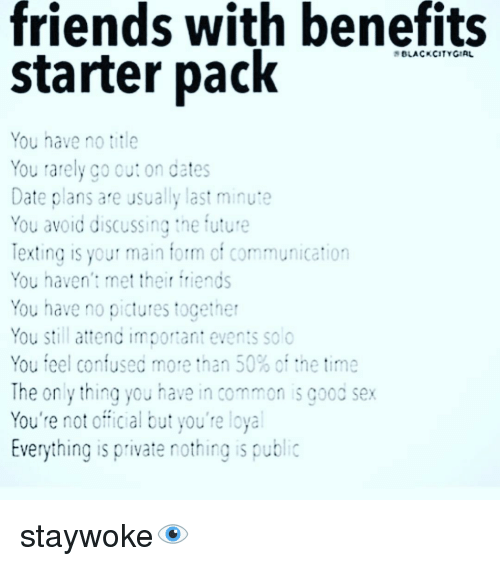 Friends With Benefits Application