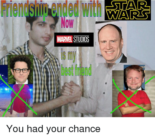 Best Friend, Marvel Comics, and Best: Friendshig  ended  with  AR  0W  MARVEL STUDIOS  s m  best friend You had your chance