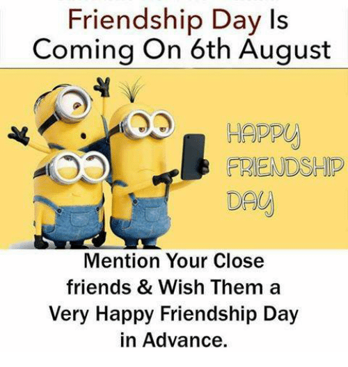 Advance happy friendship day photos