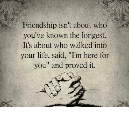 friendship isnt about who youve known the longest its about 6858622 ✅ 25 best memes about healing healing memes