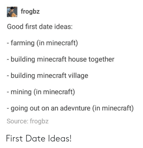 Good first date ideas for high schoolers