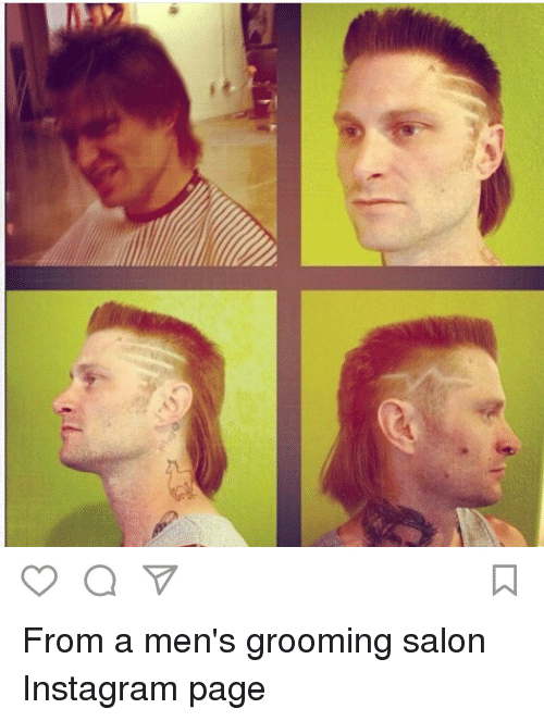 From a Men's Grooming Salon Instagram Page | Instagram Meme