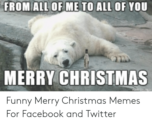 Christmas Memes Funny.From All Of Me To All Of You Merry Christmas Funny Merry