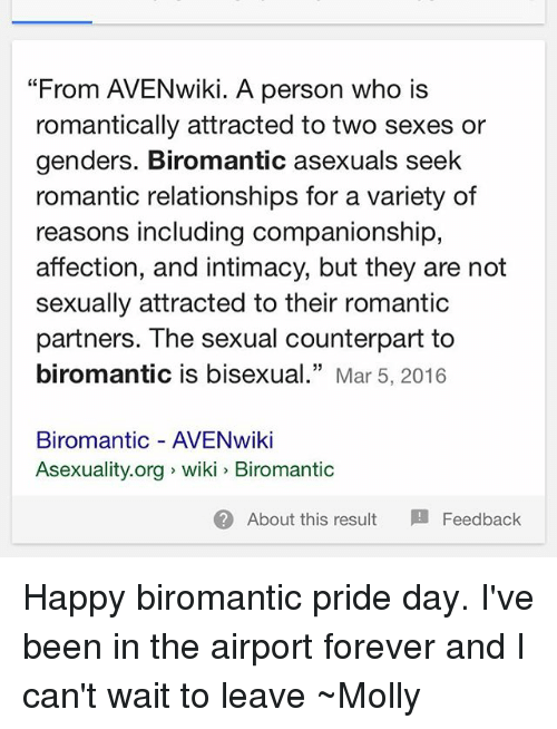 What is biromantic
