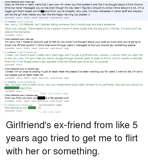 dating an ex from years ago