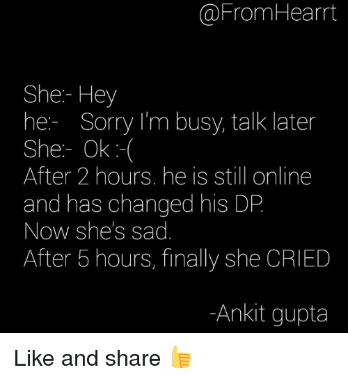 Memes, 🤖, and Sadly: @From Heart She Hey he Sorry I'