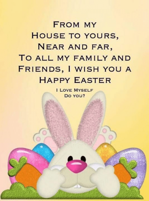 From My House To Yours Near And Far To All My Family And Friends I