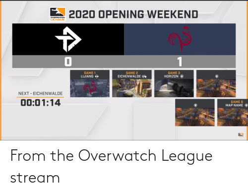 From The Overwatch League Stream League Meme On Me Me