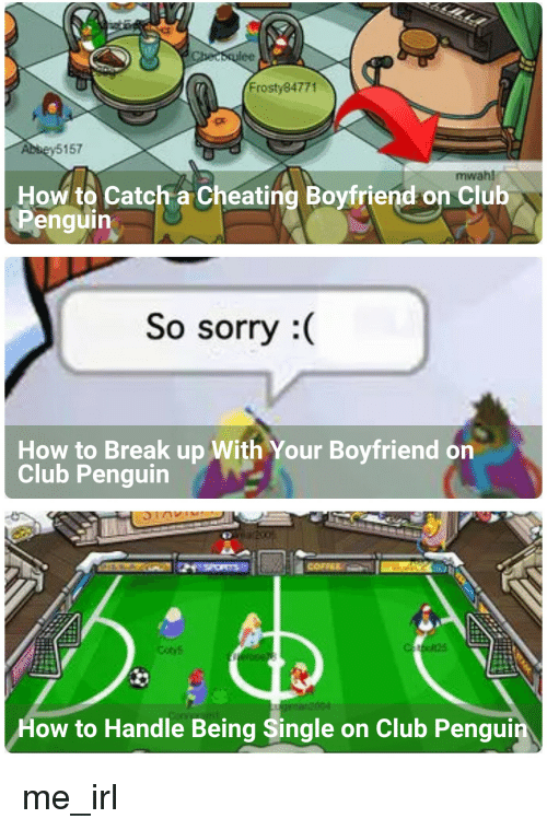 how to get a boyfriend on club penguin