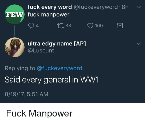 History Of The Fuck Word