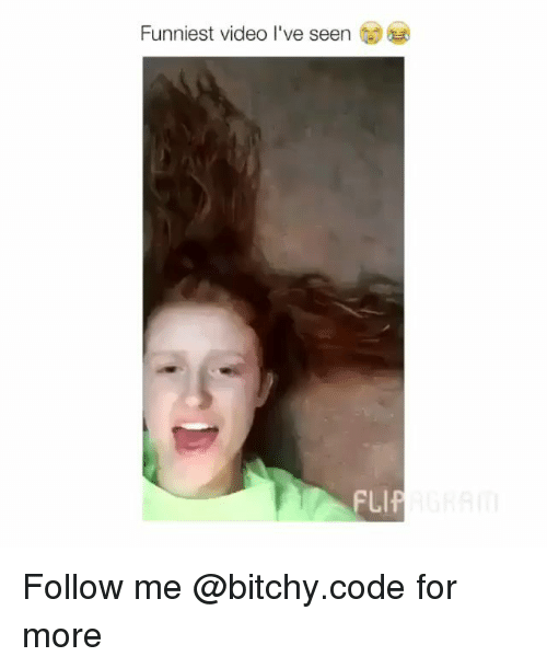 Memes, Video, and 🤖: Funniest video I've seen Follow me @bitchy.code for more