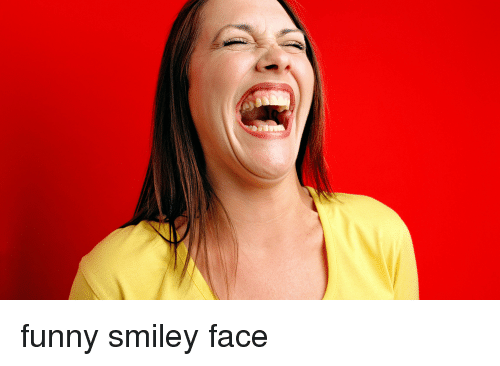 Funny Smiley Face Funny Meme On Me
