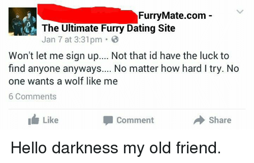 Dating site comments