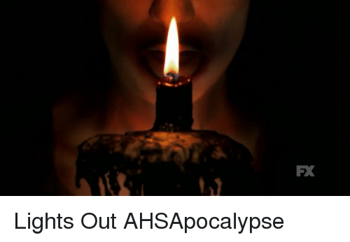 Memes, 🤖, and Lights: FX Lights Out AHSApocalypse