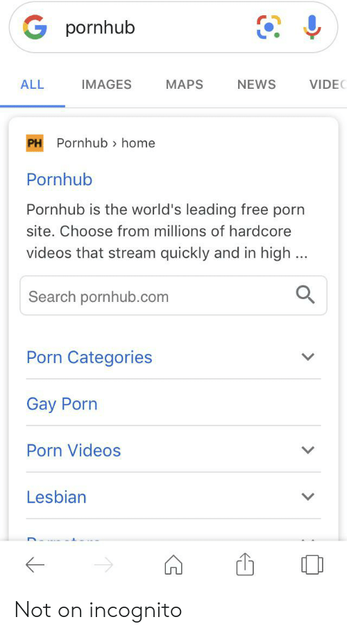 All porn categories