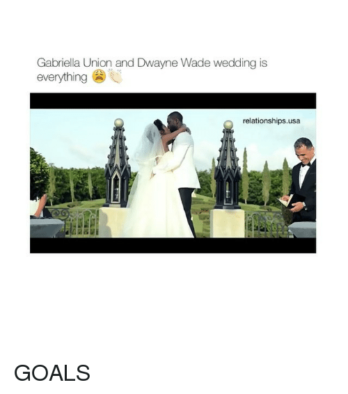 Gabriella Union and Dwayne Wade Wedding Is Everything Relationships