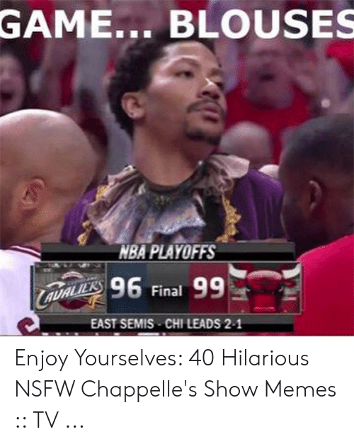 Game Blouses Nba Playoffs 96 Final 99 East Semis Chileads 2