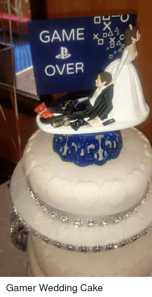 28+ Game Over Wedding Cake Images