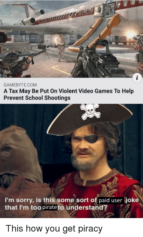 GAMEBYTECOM a Tax May Be Put on Violent Video Games to Help Prevent